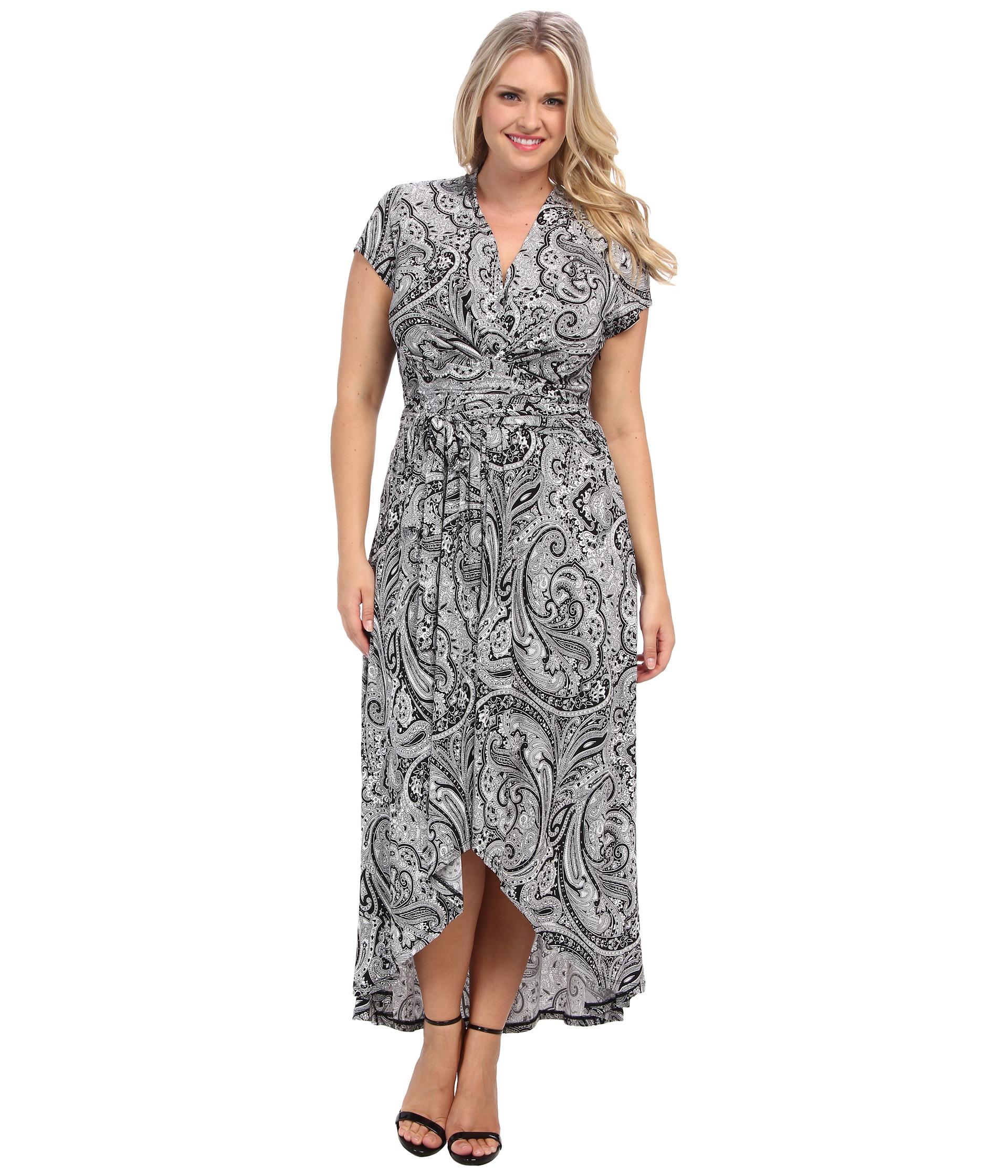 d03be69ae9b Plus Size Black Wrap Maxi Dress - Data Dynamic AG