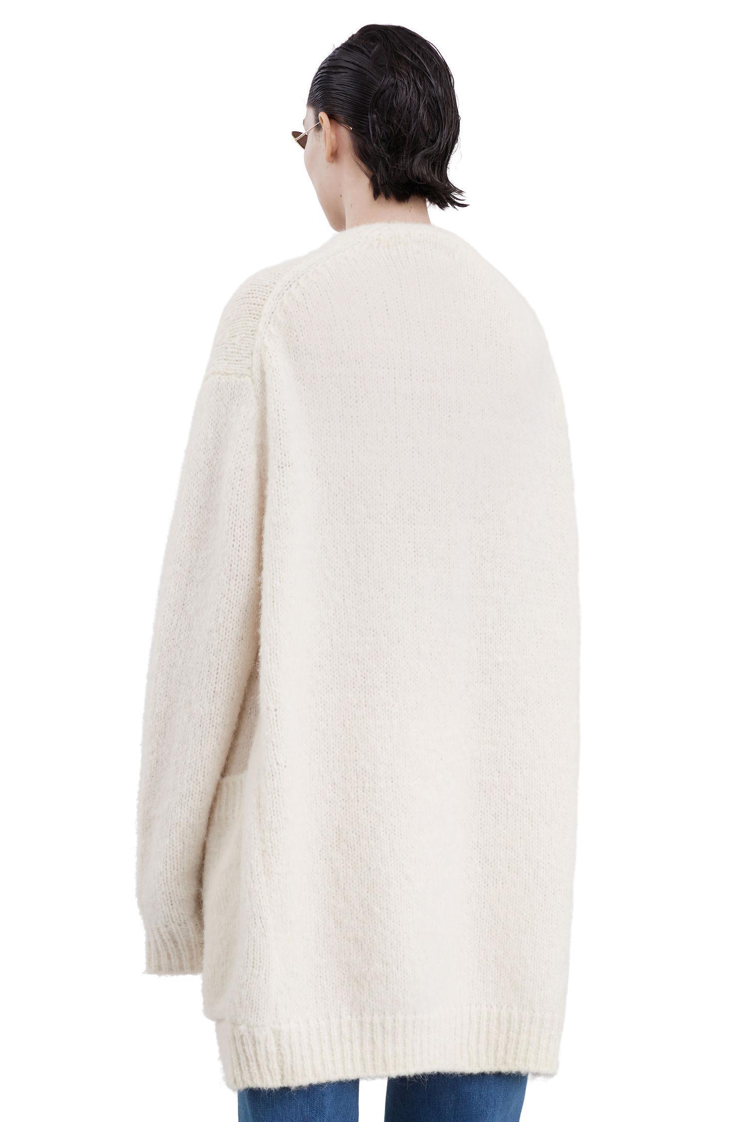 Acne studios Astrid Alpaca pearl White