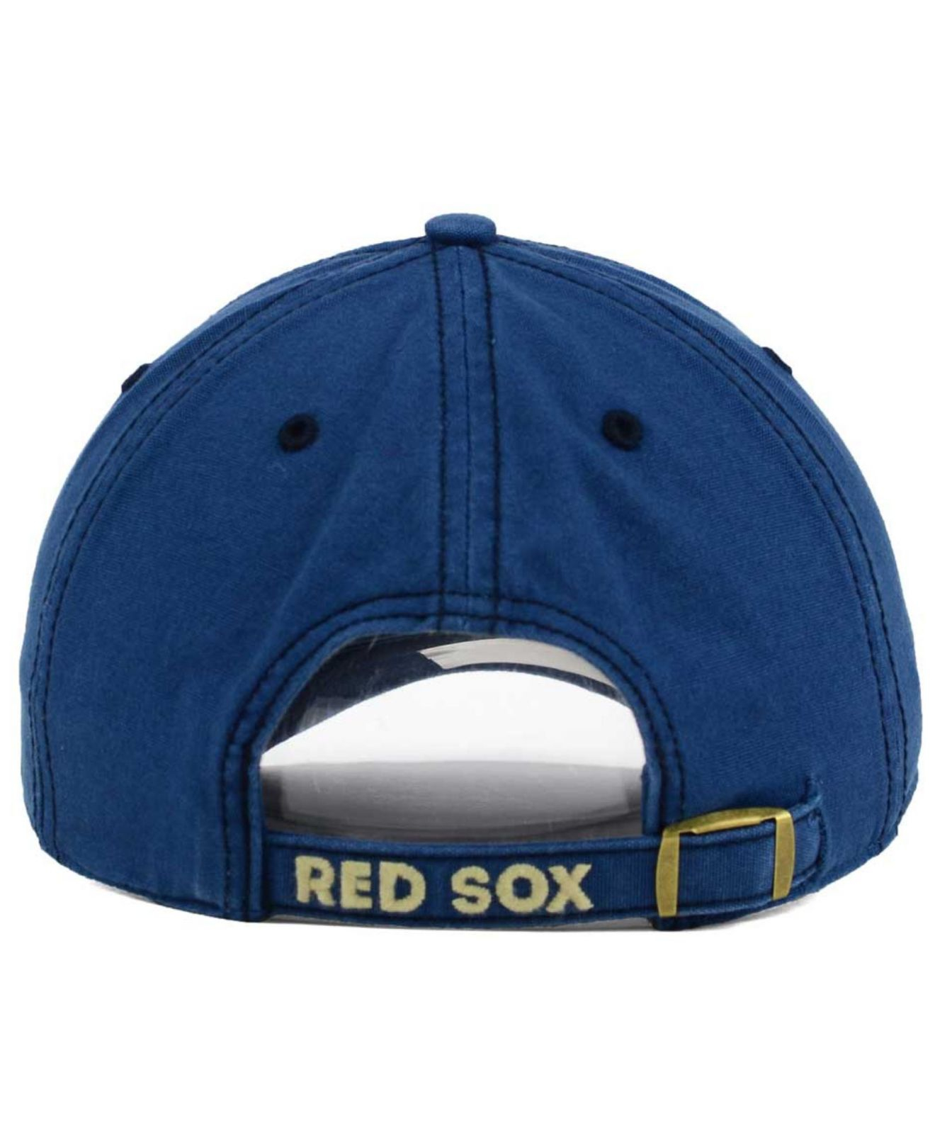 570635e8e6821 ... new zealand lyst 47 brand boston red sox stillwater clean up cap in  blue for men