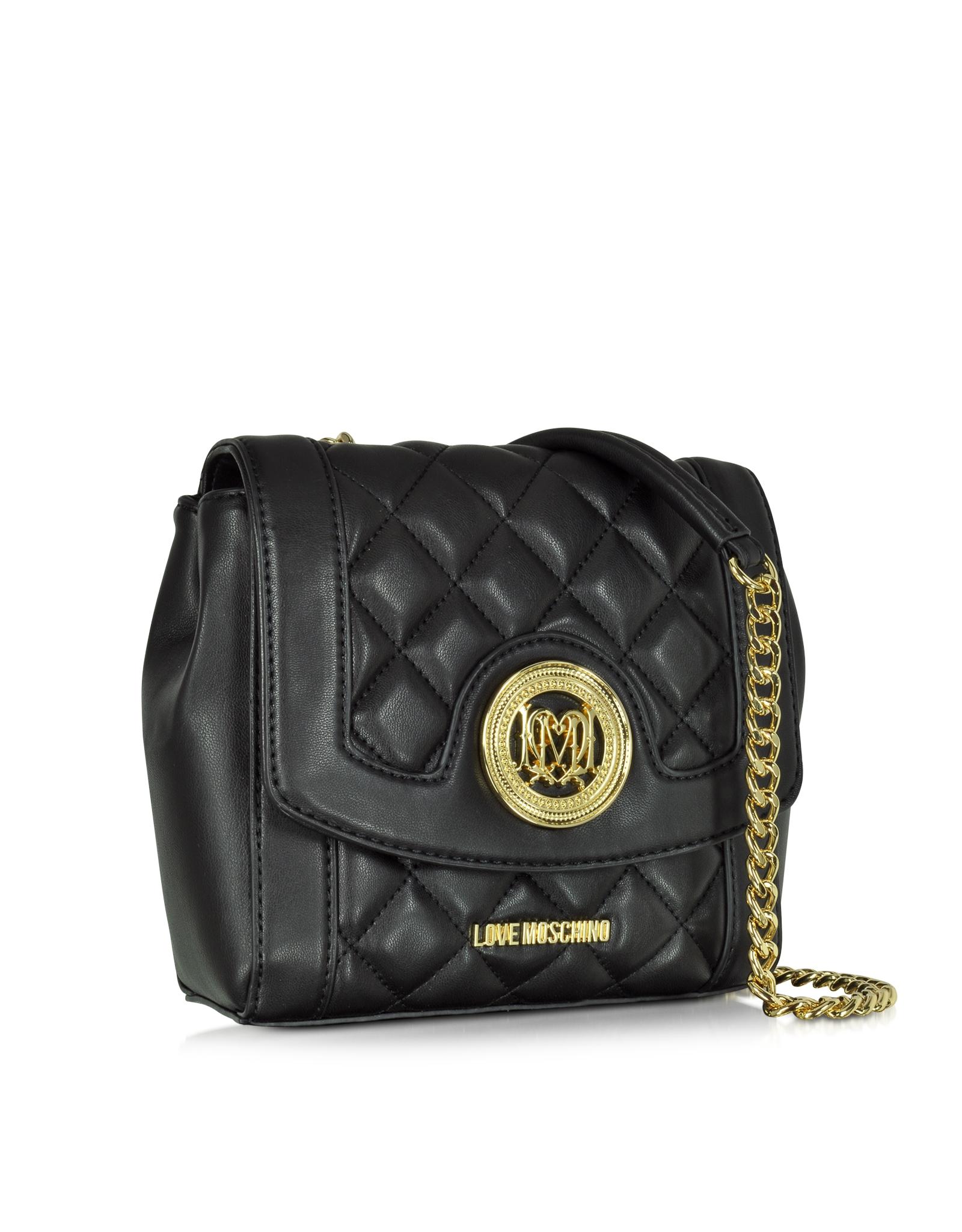 Moschino Medium Leather Shoulder Bag clFSFvl