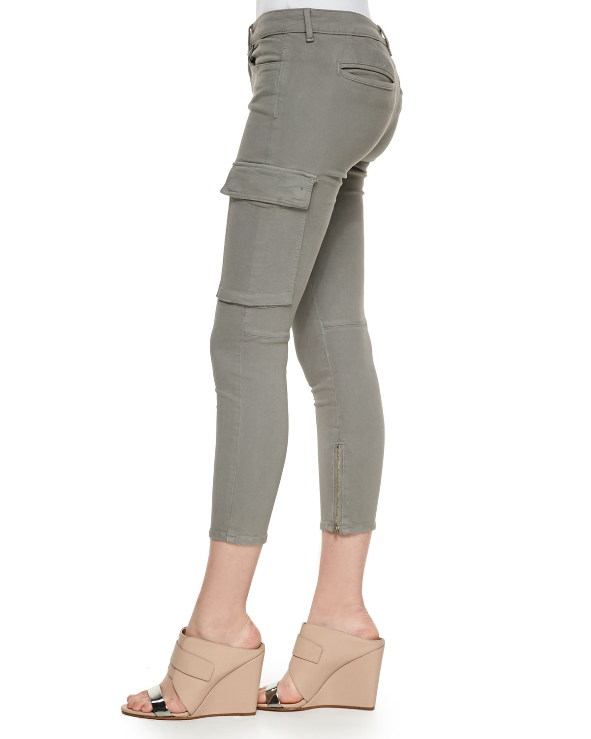 Fantastic Olive Cropped Cargo Pants  Zulily