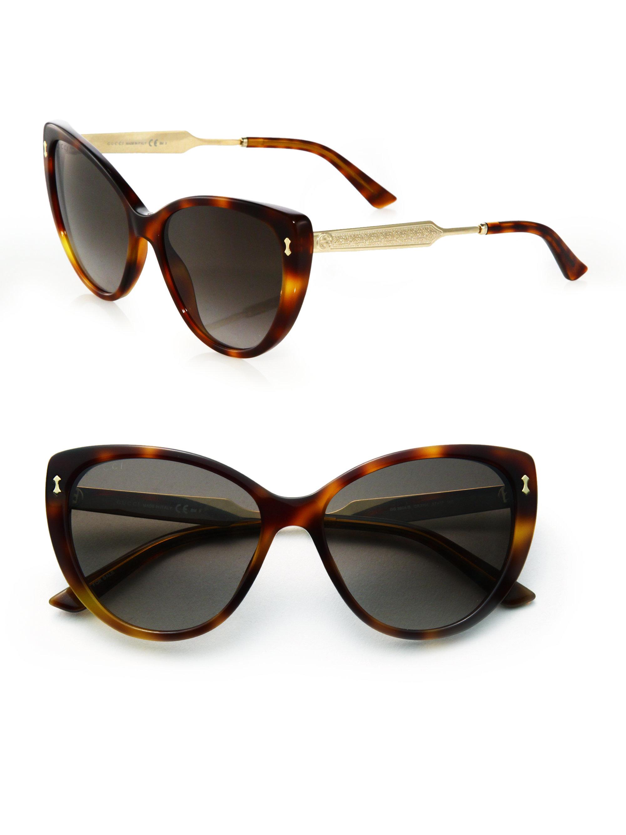 Gucci Women S Cat Eye Sunglasses