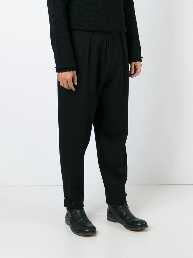 tapered trousers - Black Yohji Yamamoto RDjy8