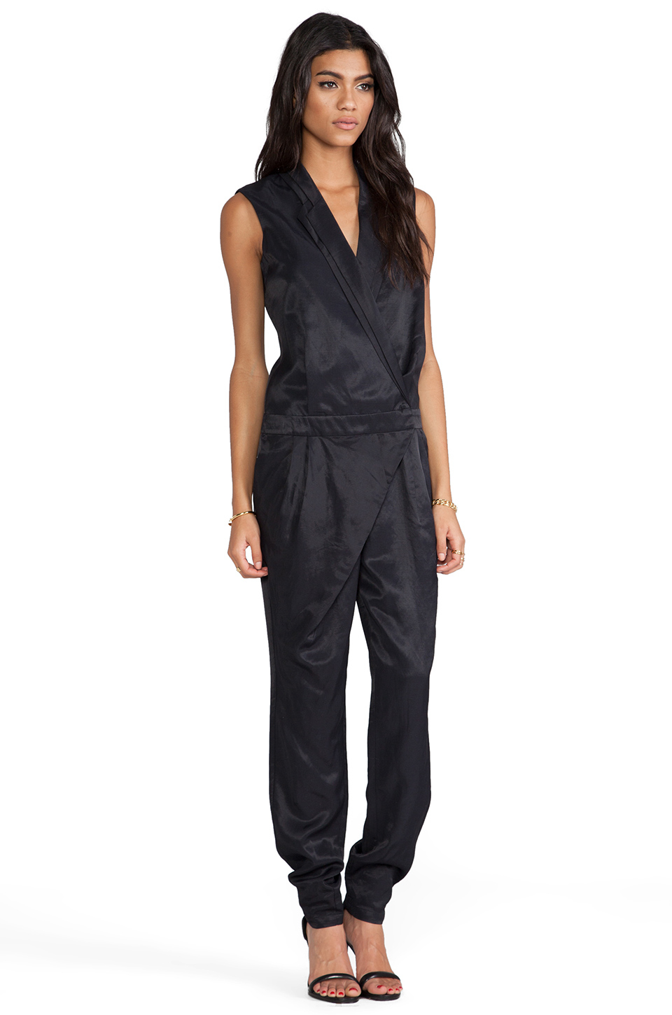 c meo collective riptide pantsuit in black lyst gallery