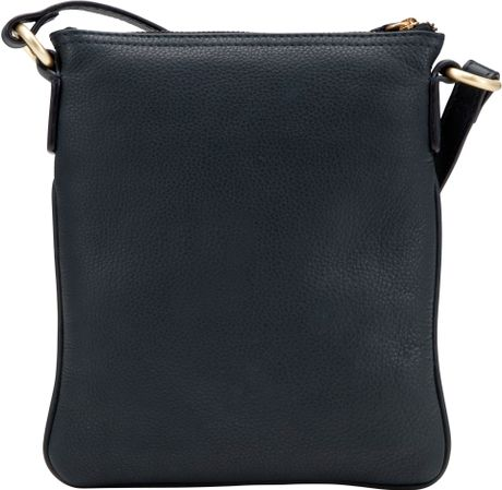 John Lewis Carlyle Small Square Across Body Bag in Blue (Navy)