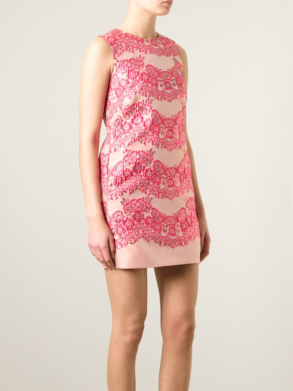 1ac21c13227 Red Valentino Floral Lace Dress