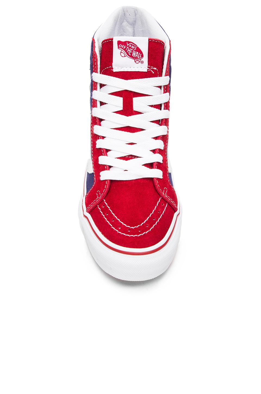 c2bc4dc22d Lyst - Vans Sk8-Hi Slim Studded Stars Sneaker in Red