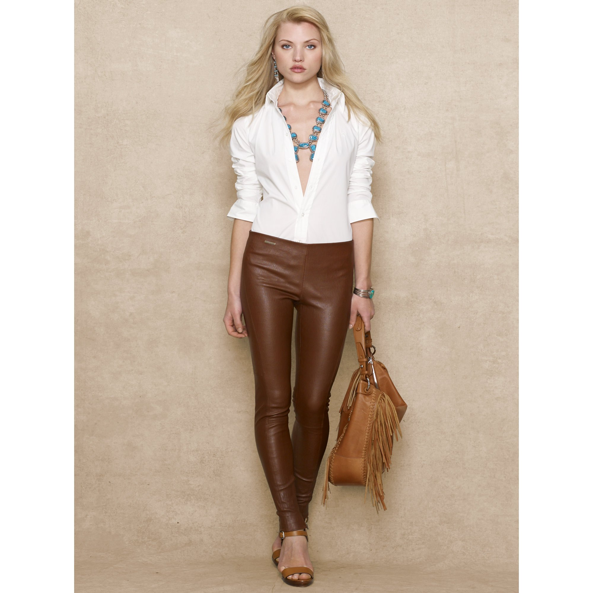 Excellent Brown Leather Pants For Women  Galleryhipcom  The Hippest Galleries
