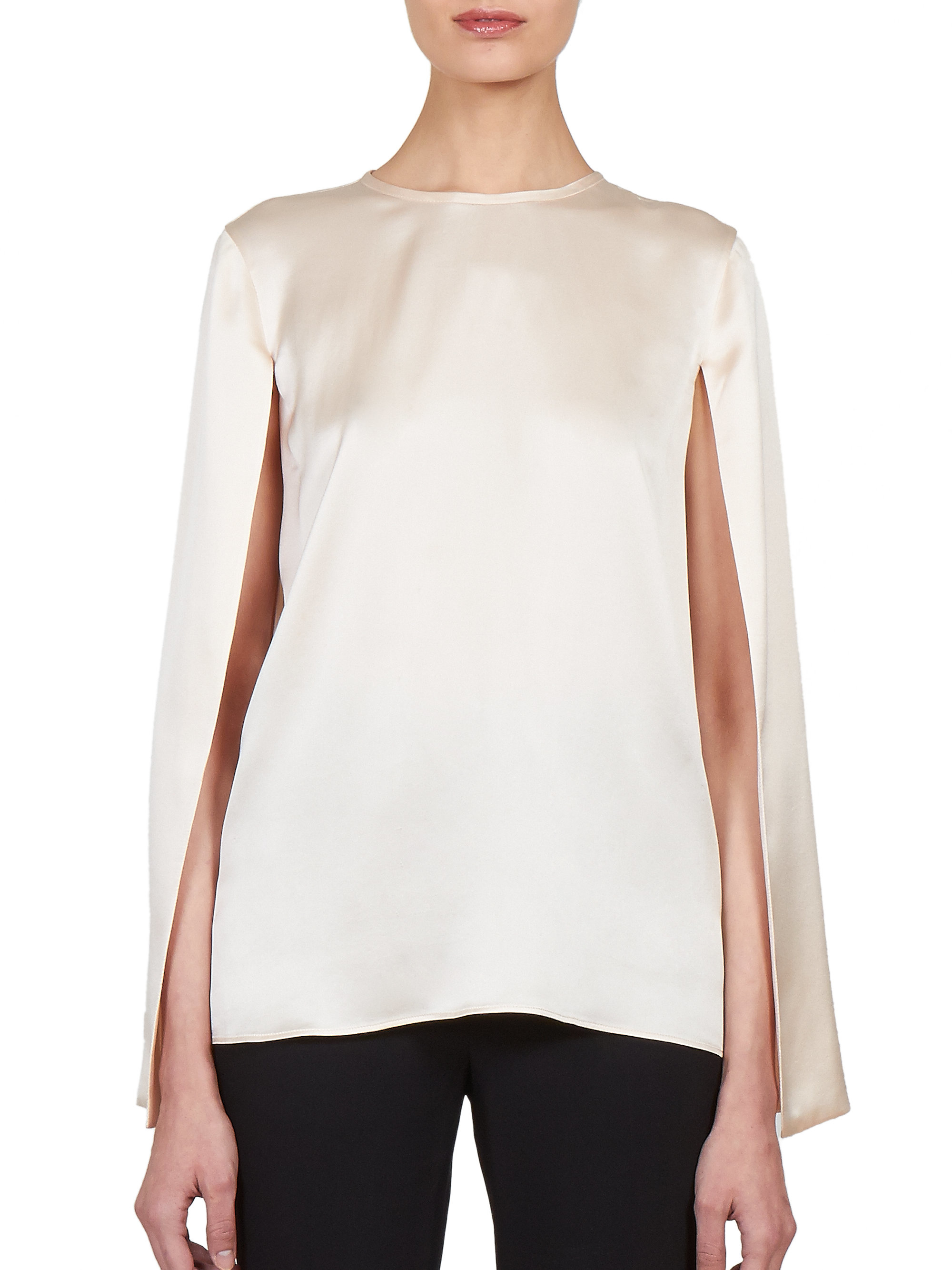 Sale Online Shopping Womens Colorblocked Silk Blouse Givenchy Clearance Affordable RhwjLD