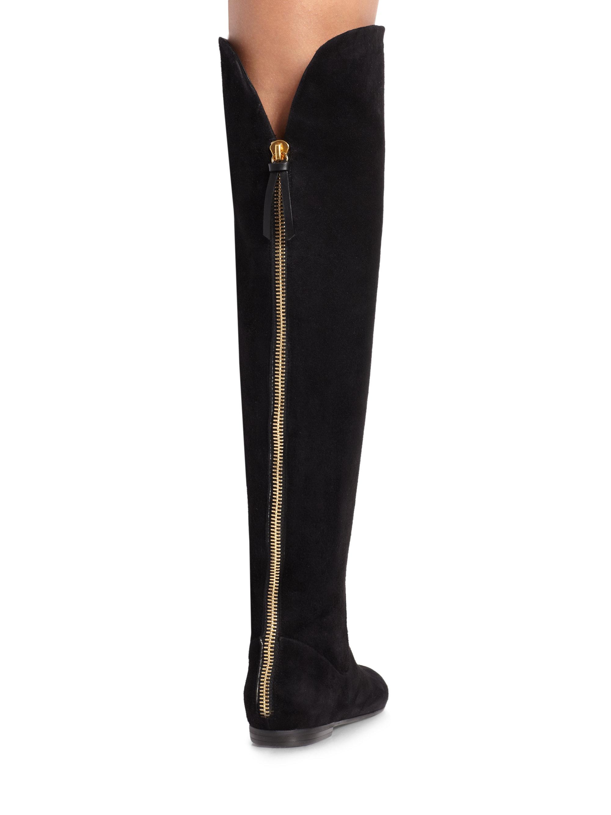 Giuseppe Zanotti Velvet Cika Over-the-Knee Boots y3AN5rB5