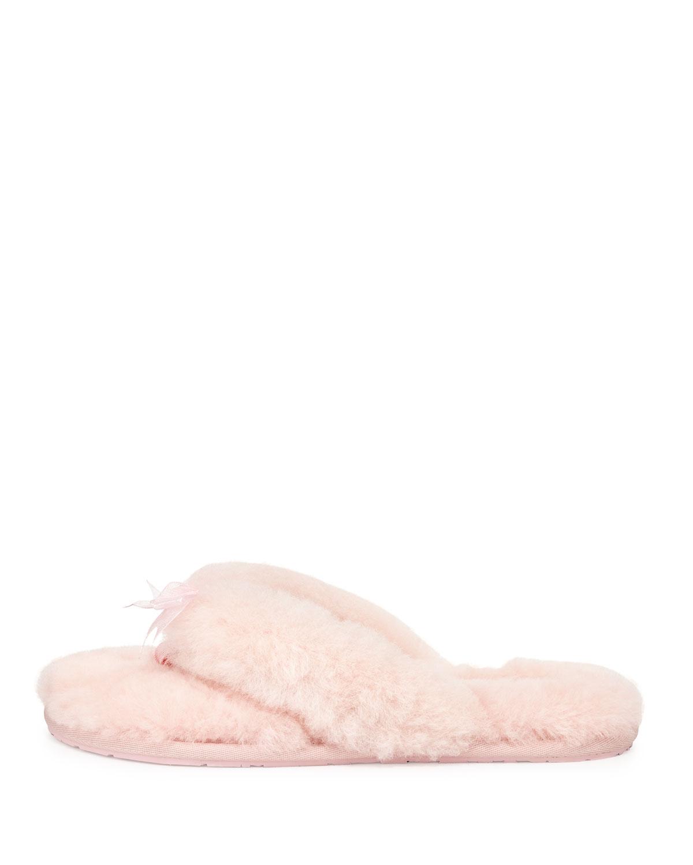 pink ugg flip flop slippers
