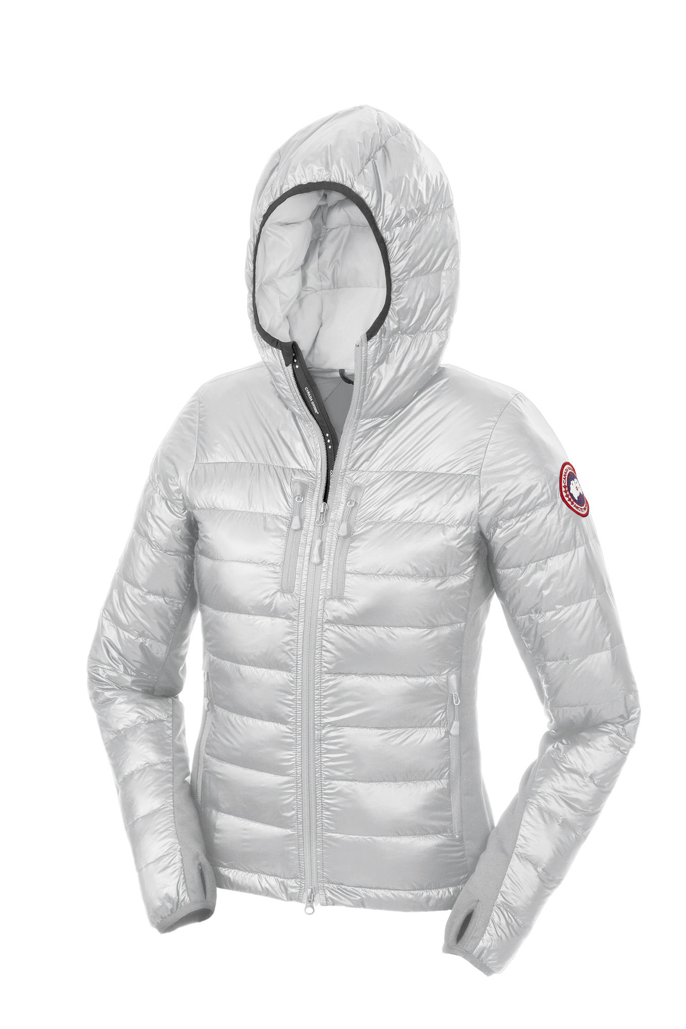 Canada Goose chilliwack parka outlet price - Canada goose Hybridge Lite Hoody in Silver (Silverbirch) | Lyst