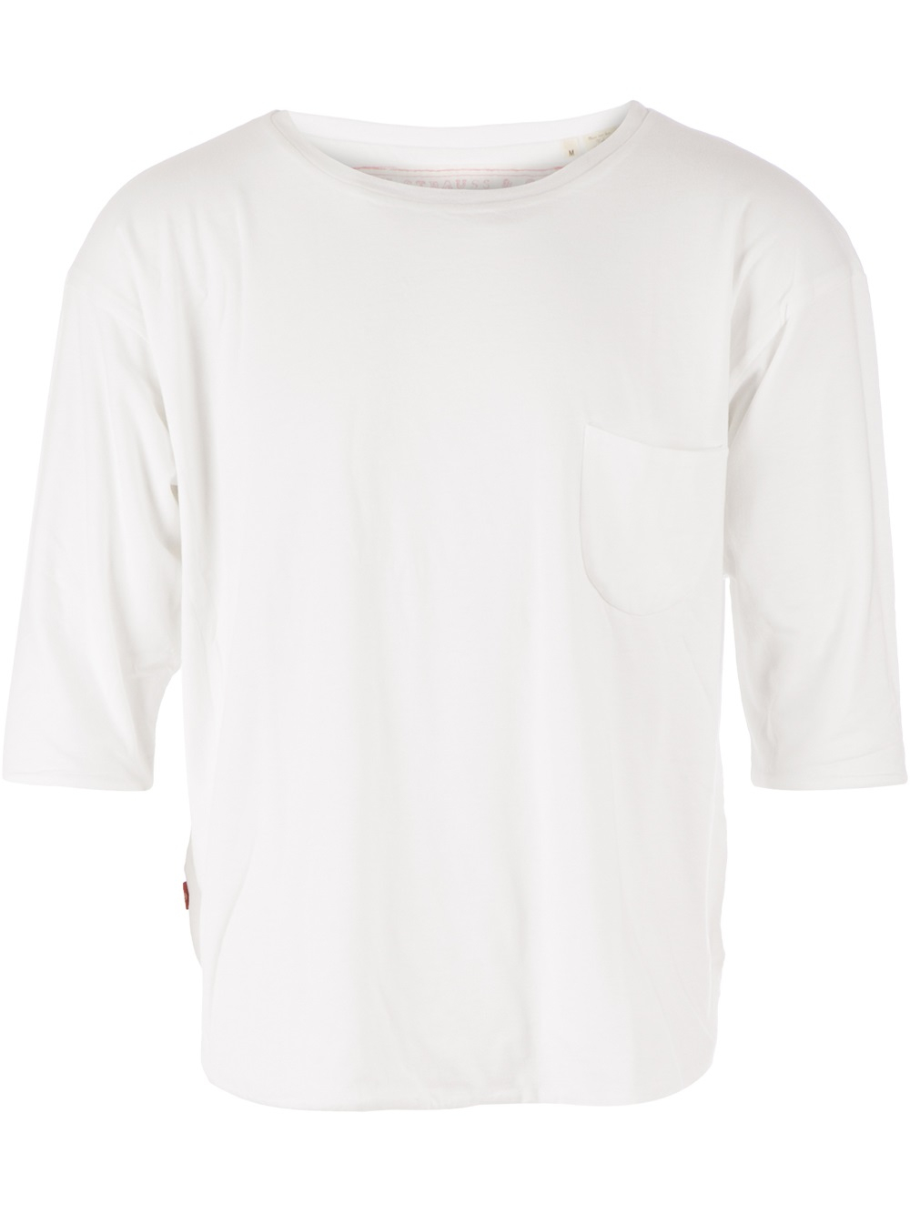 Lyst Levis Red Boat Neck Tshirt In White For Men