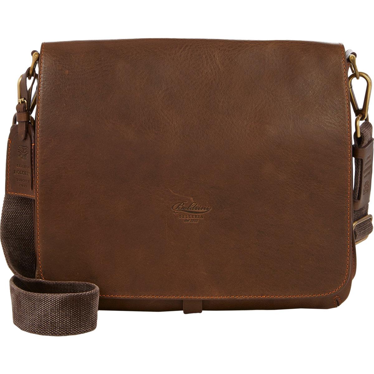 Boldrini selleria Men's Small Messenger Bag in Brown for Men   Lyst