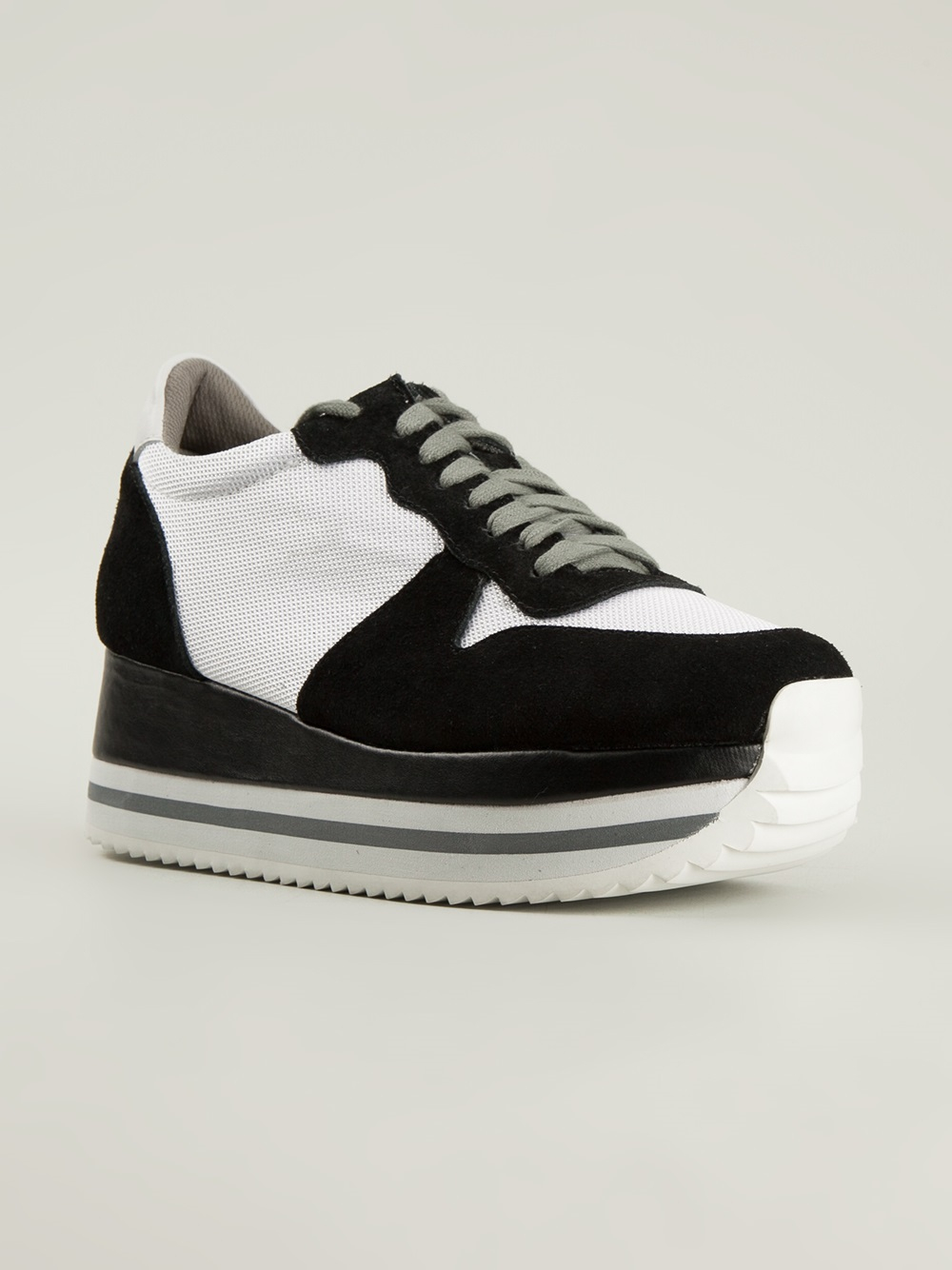 074fd0fbad24 Lyst - Jeffrey Campbell Turbo Sneakers in Black