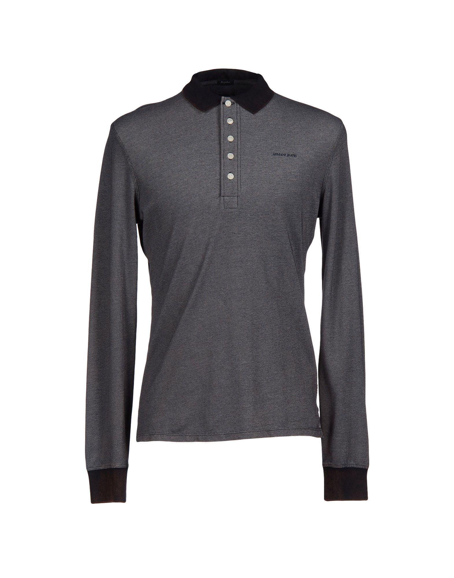 Lyst armani jeans polo shirt in blue for men for Polo shirt and jeans