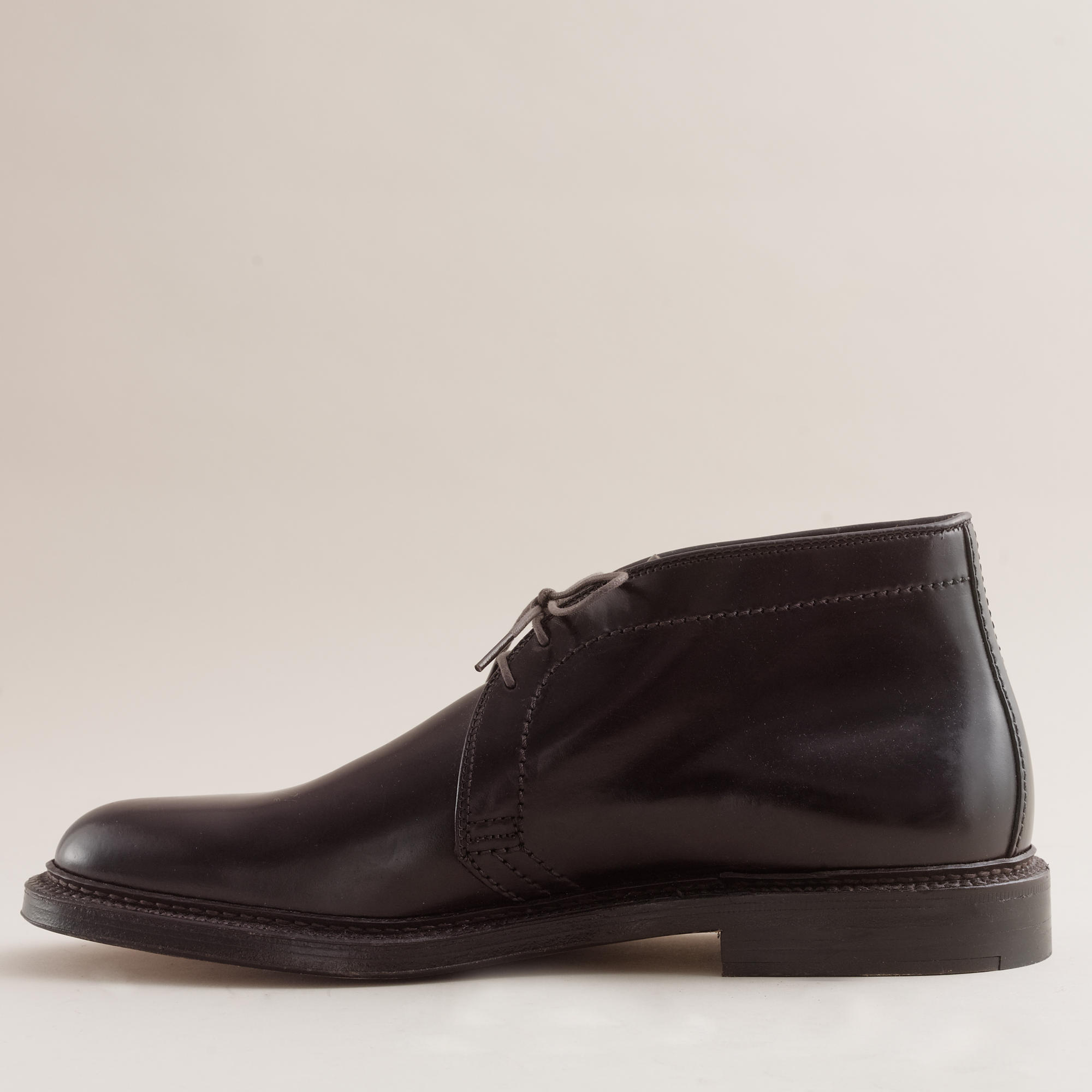 alden shell cordovan chukka boots in purple for lyst