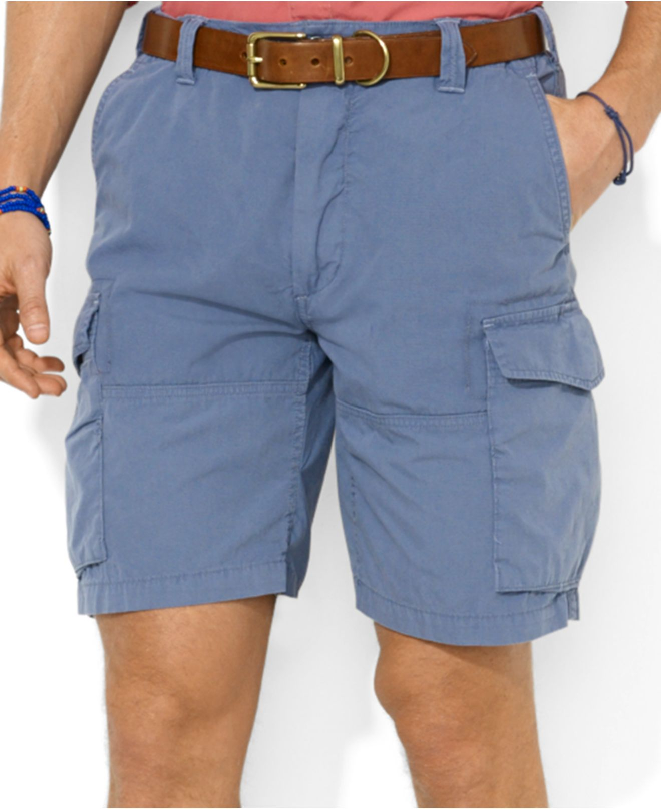 Polo ralph lauren Polo Big and Tall Corporal Cargo Shorts in Blue ...