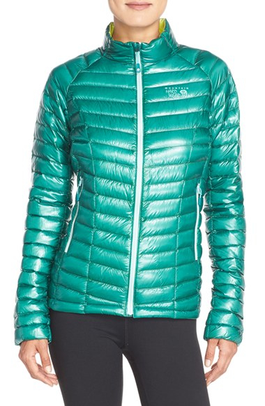 e53a747e44 Mountain Hardwear 'ghost Whisperer' Quilted Down Jacket in Green - Lyst