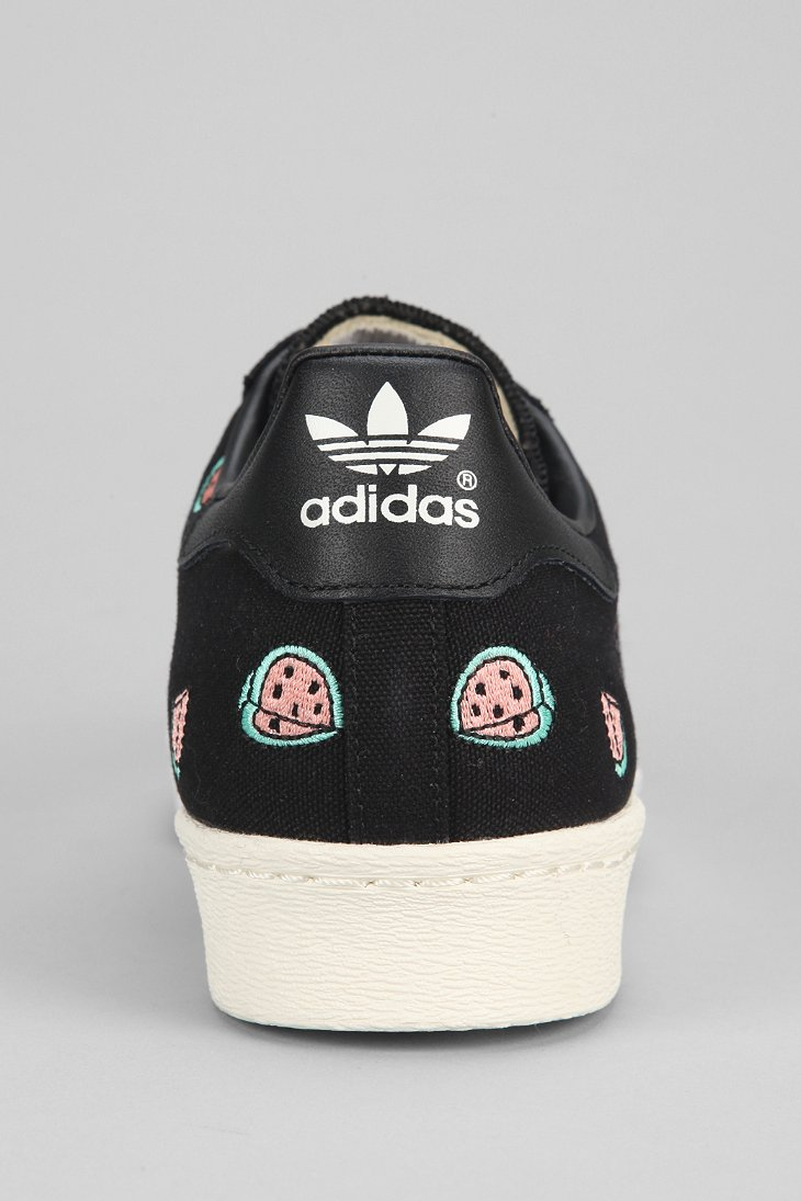 pretty nice d6024 9ab97 Lyst - Adidas Halfshell 80s Watermelon Sneaker in Black for