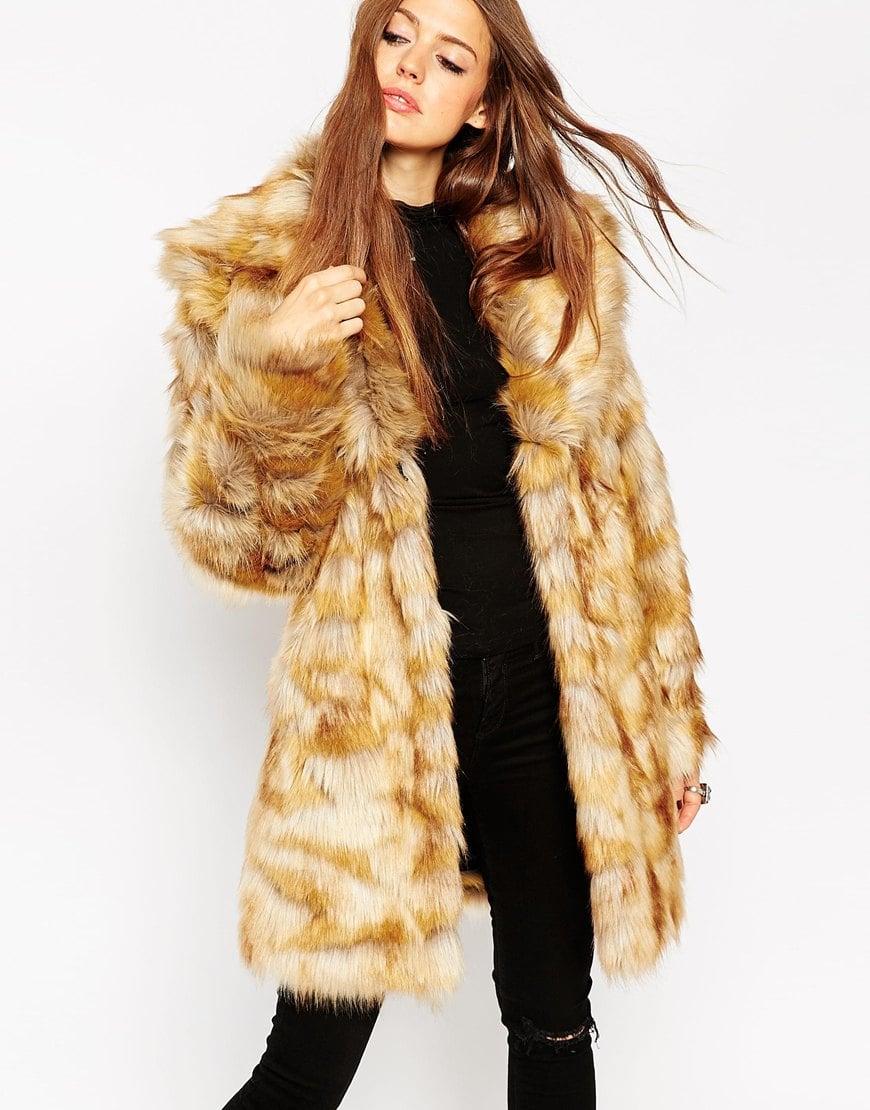 Suede Faux Fur Coat - Tradingbasis