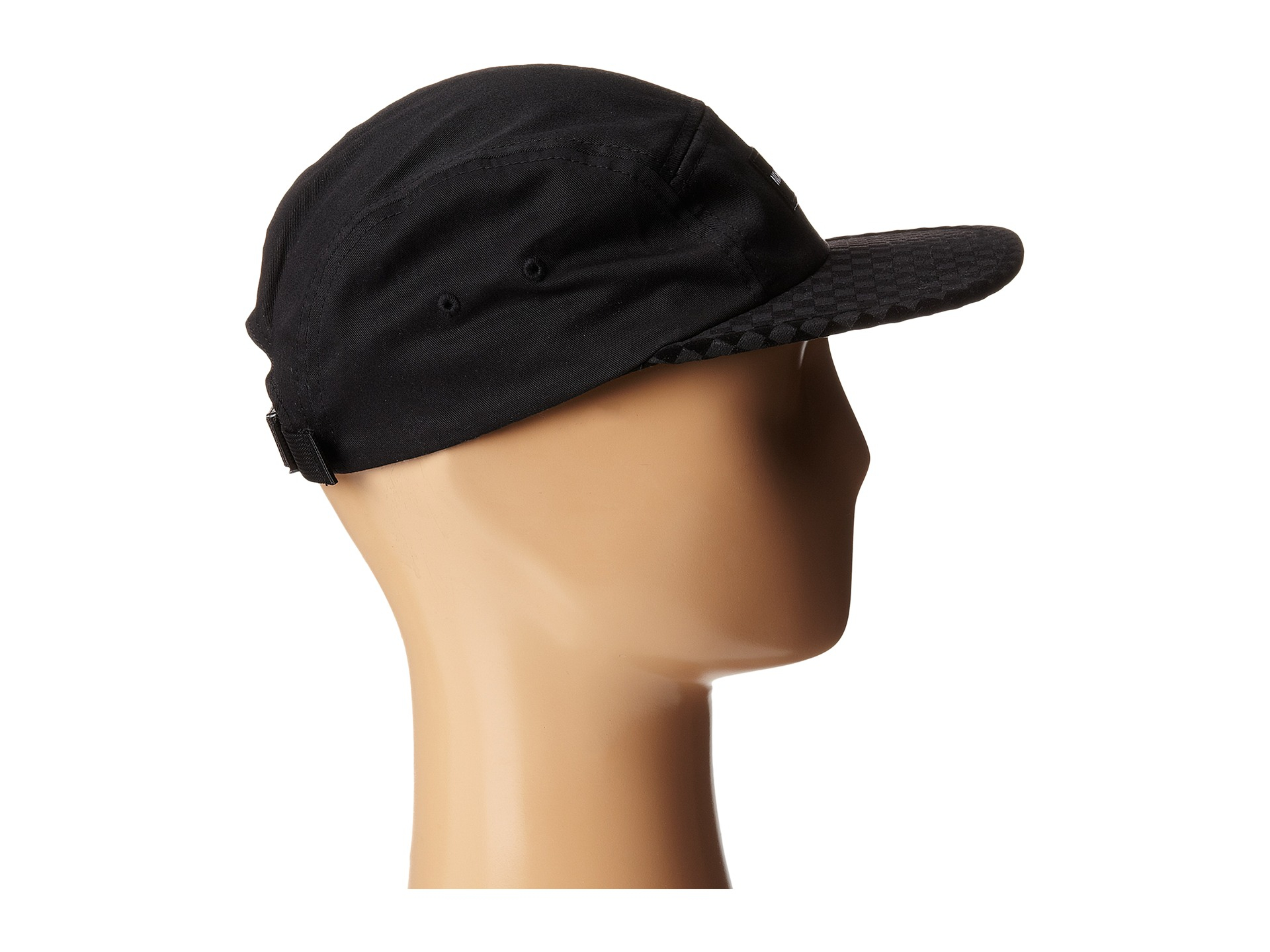 9f34ab52059 Lyst - Nixon Tide 5 Panel Hat in Black for Men