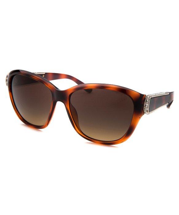 Prada 0pr 14ss (medium Havana/black/brown Gradient
