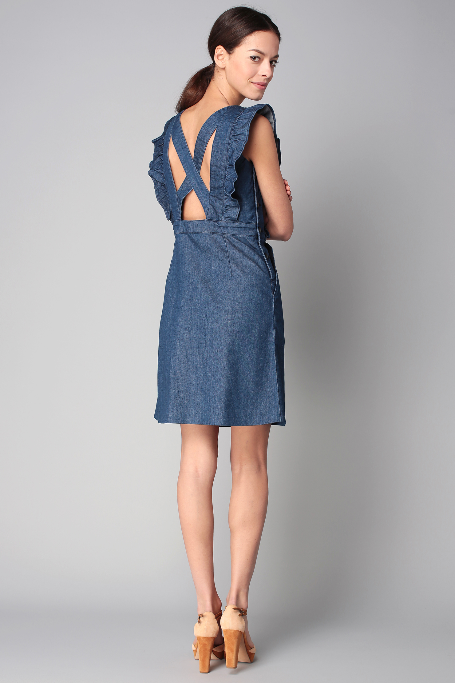Cacharel Short/knee Length Dress in Blue