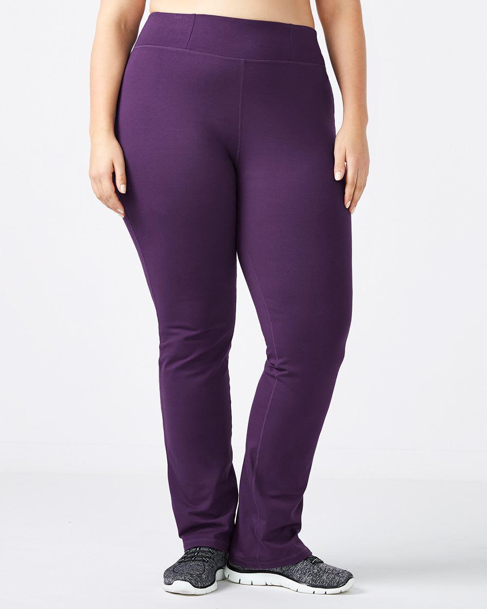 892ac8bbd01 Lyst - Addition Elle Online Only - Plus-size Yoga Pant - Essentials ...