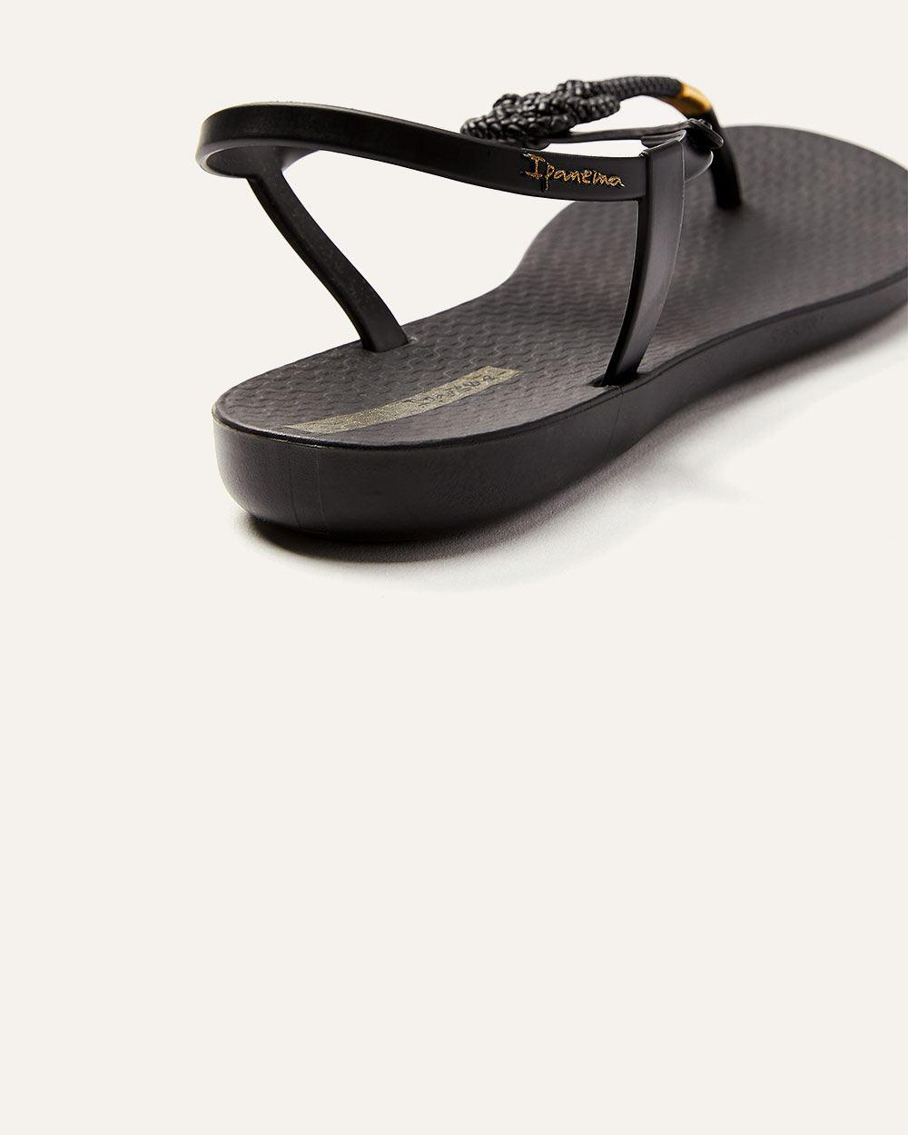 0491998b5 Lyst - Addition Elle Ipanema Mara Sandals in Black