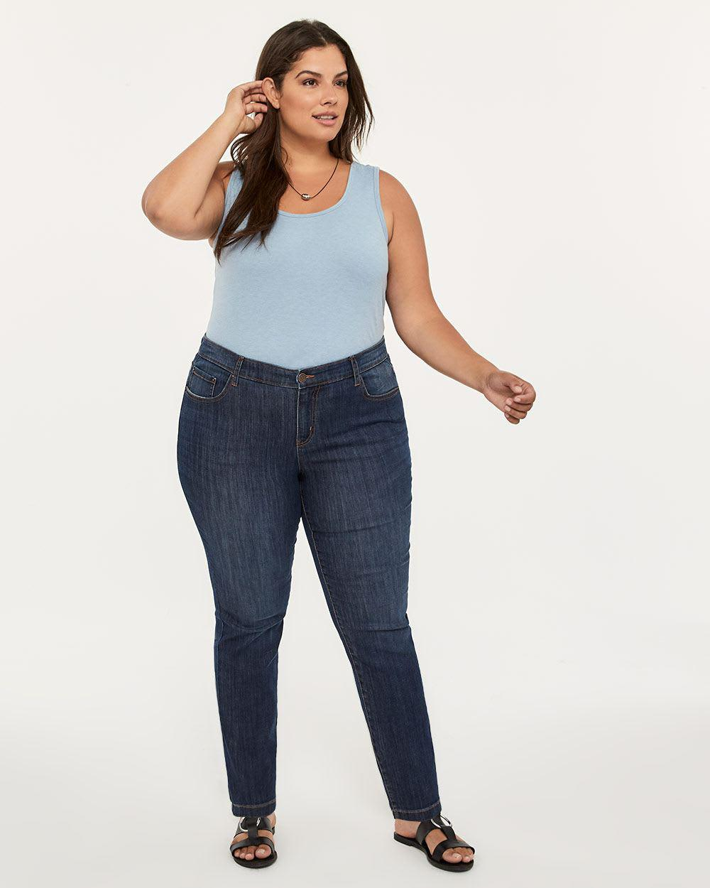 2e1b7624513bea Addition Elle Online Only - Tall Slightly Curvy Fit Straight Leg ...