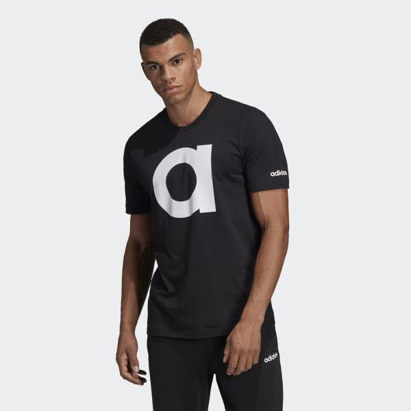 145af79b Adidas - Black Essentials Tee for Men - Lyst. View fullscreen