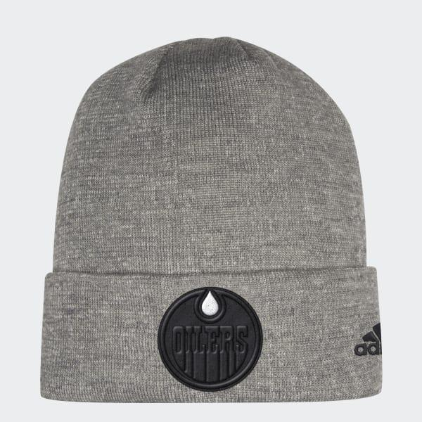 Lyst - Adidas Oilers Team Cuffed Beanie in Gray for Men 211a48124bc7