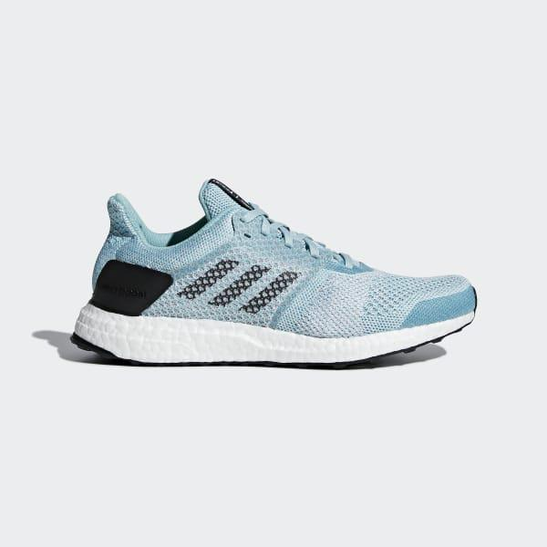 sports shoes 896b0 66496 adidas. Womens Blue Ultraboost St Parley Shoes