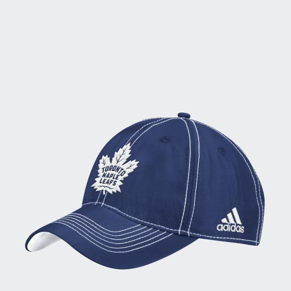 low priced 412e6 34304 ... france adidas blue maple leafs adjustable slouch dobby hat for men  lyst. view fullscreen 813a5