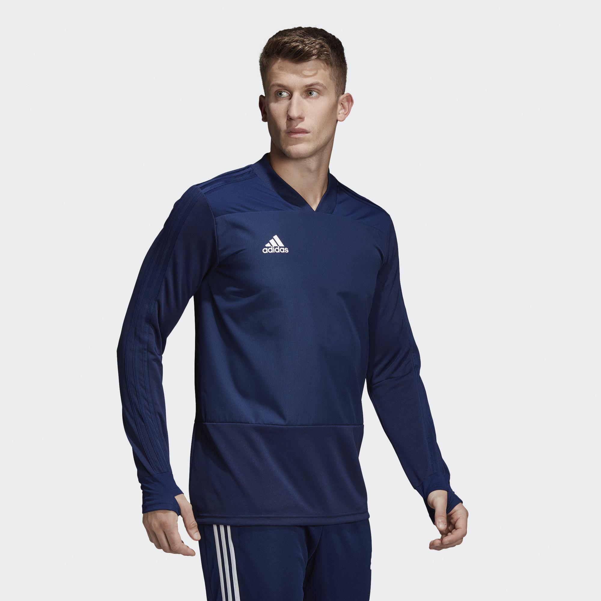 b4a22d053 Adidas - Blue Condivo 18 Player Focus Training Top for Men - Lyst. View  fullscreen