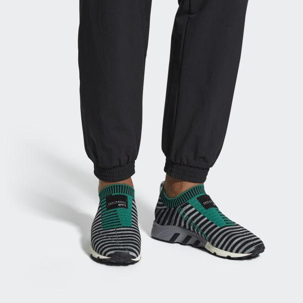 on sale 97d63 93d32 Adidas - Black Eqt Support Sk Primeknit Shoes - Lyst. View fullscreen