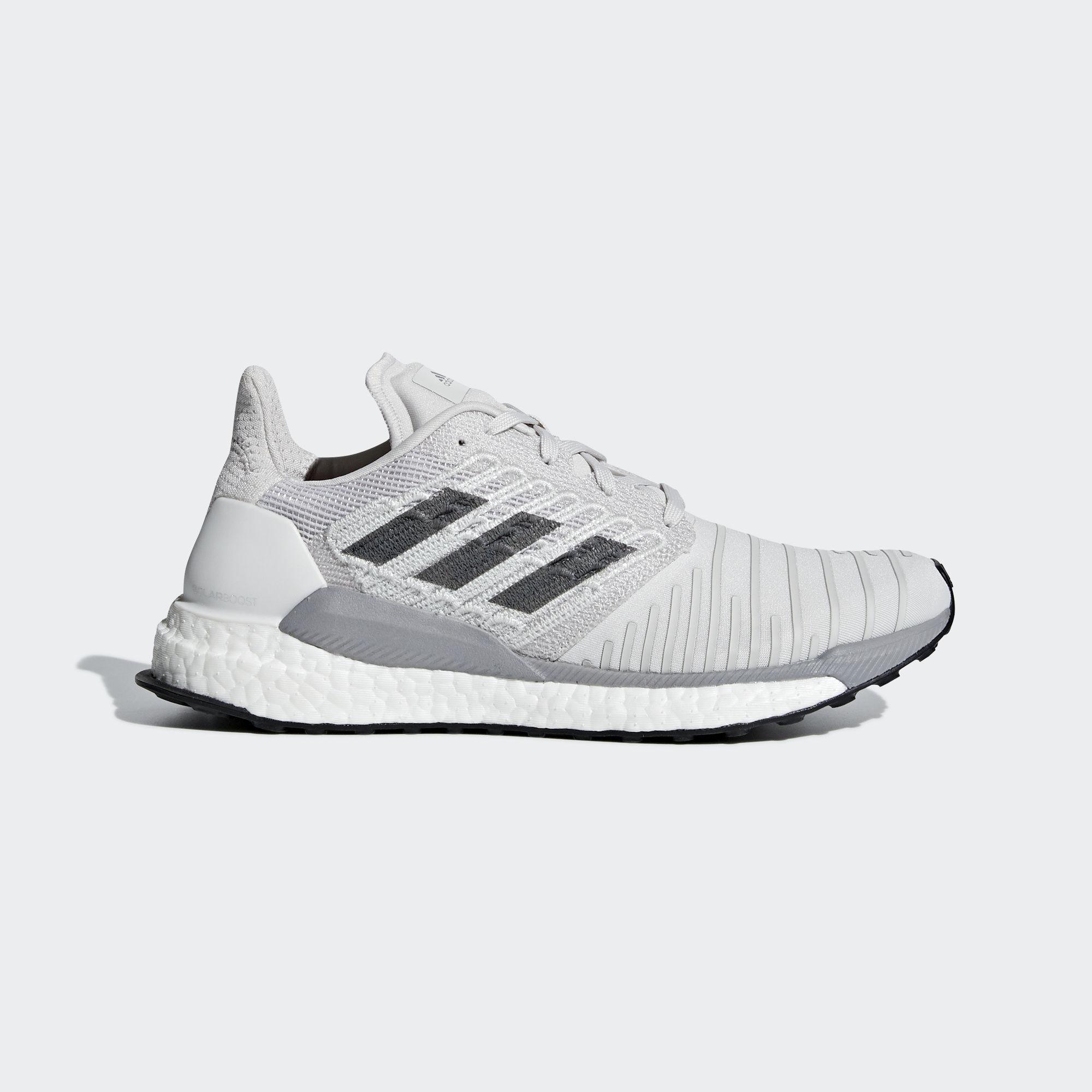 buy online 0d7d0 f6d2c adidas Solar Boost Shoes in Gray - Lyst