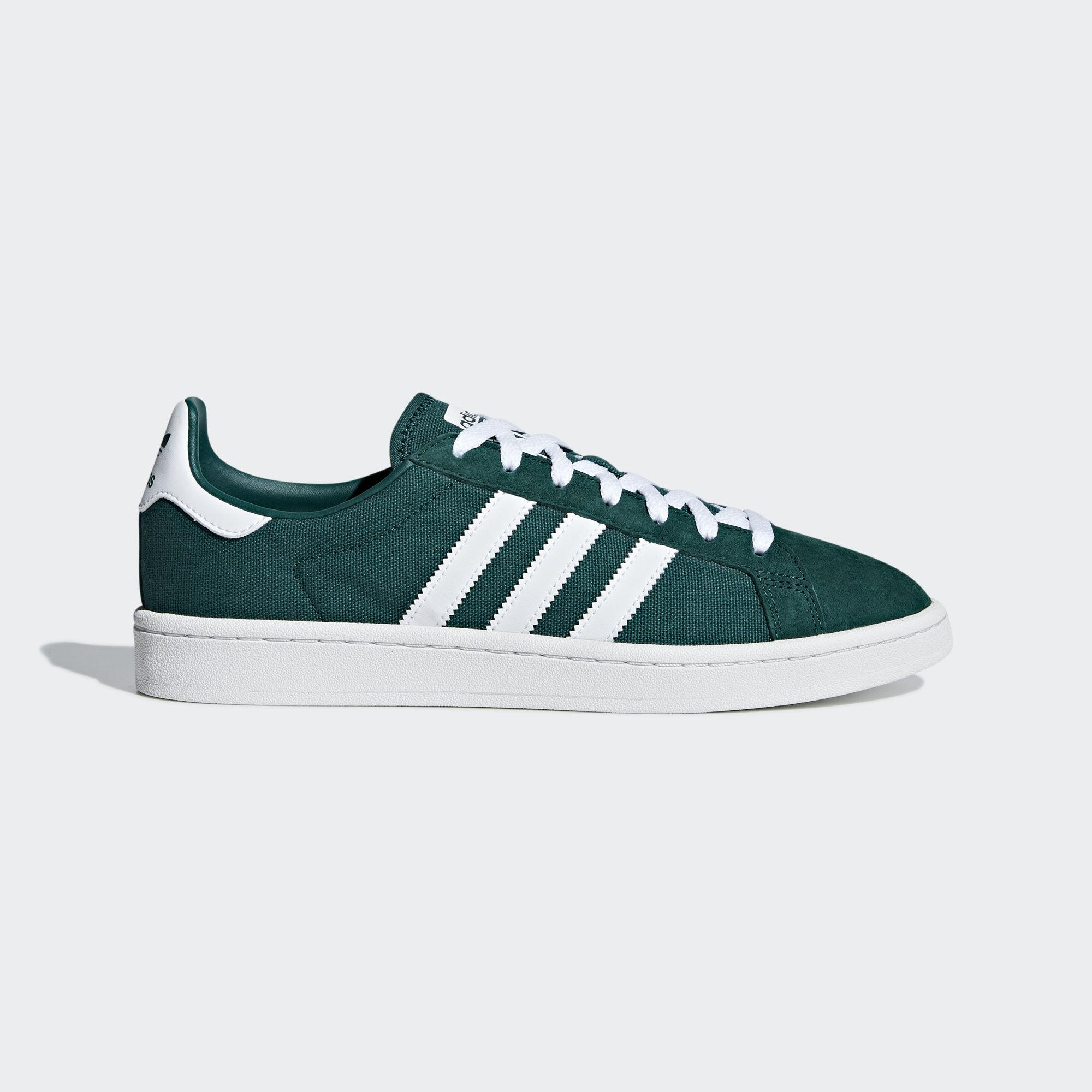 adf6446d85fc adidas Campus Shoes in Green for Men - Lyst