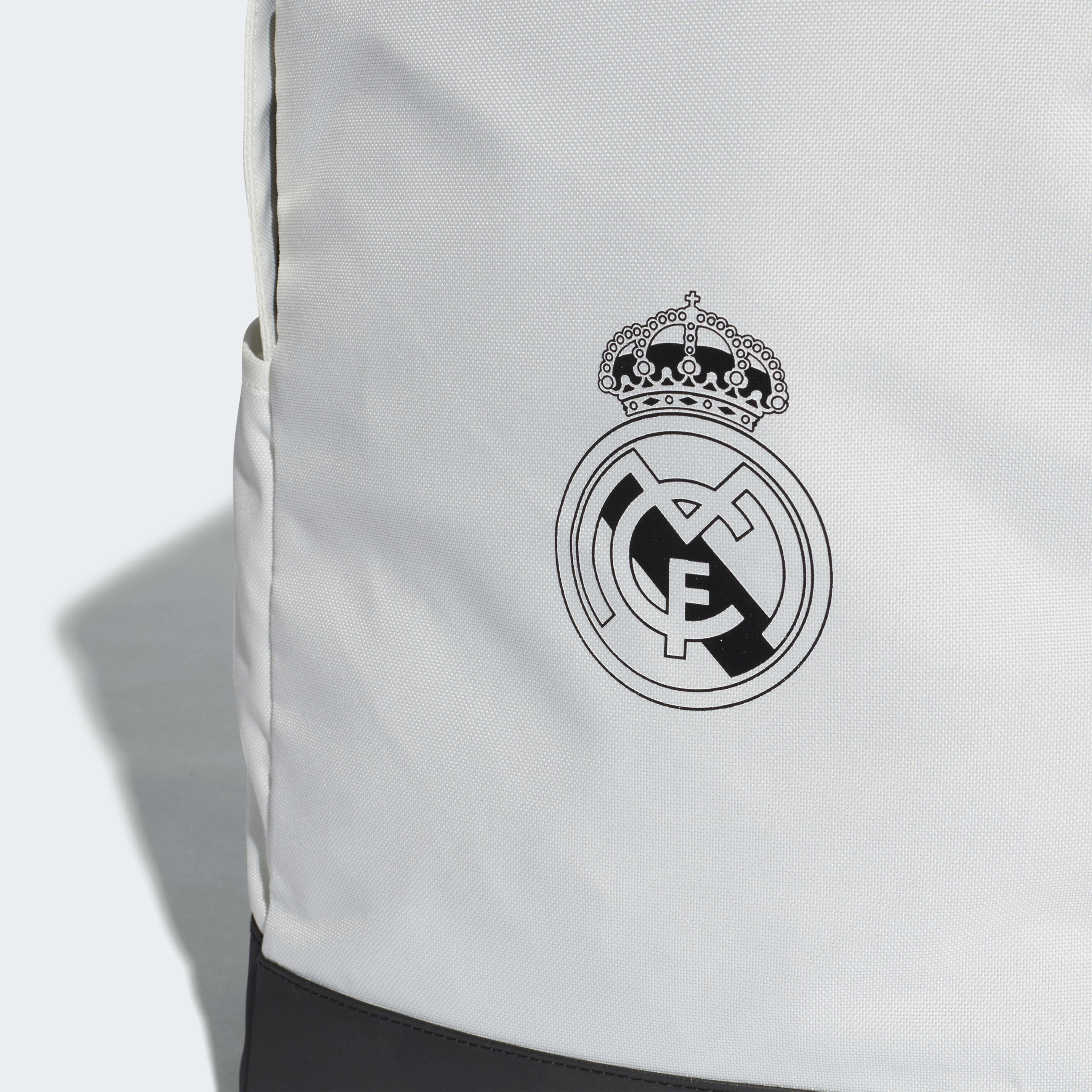 e85983d0d7 Adidas - White Sac à dos Real Madrid - Lyst. Afficher en plein écran