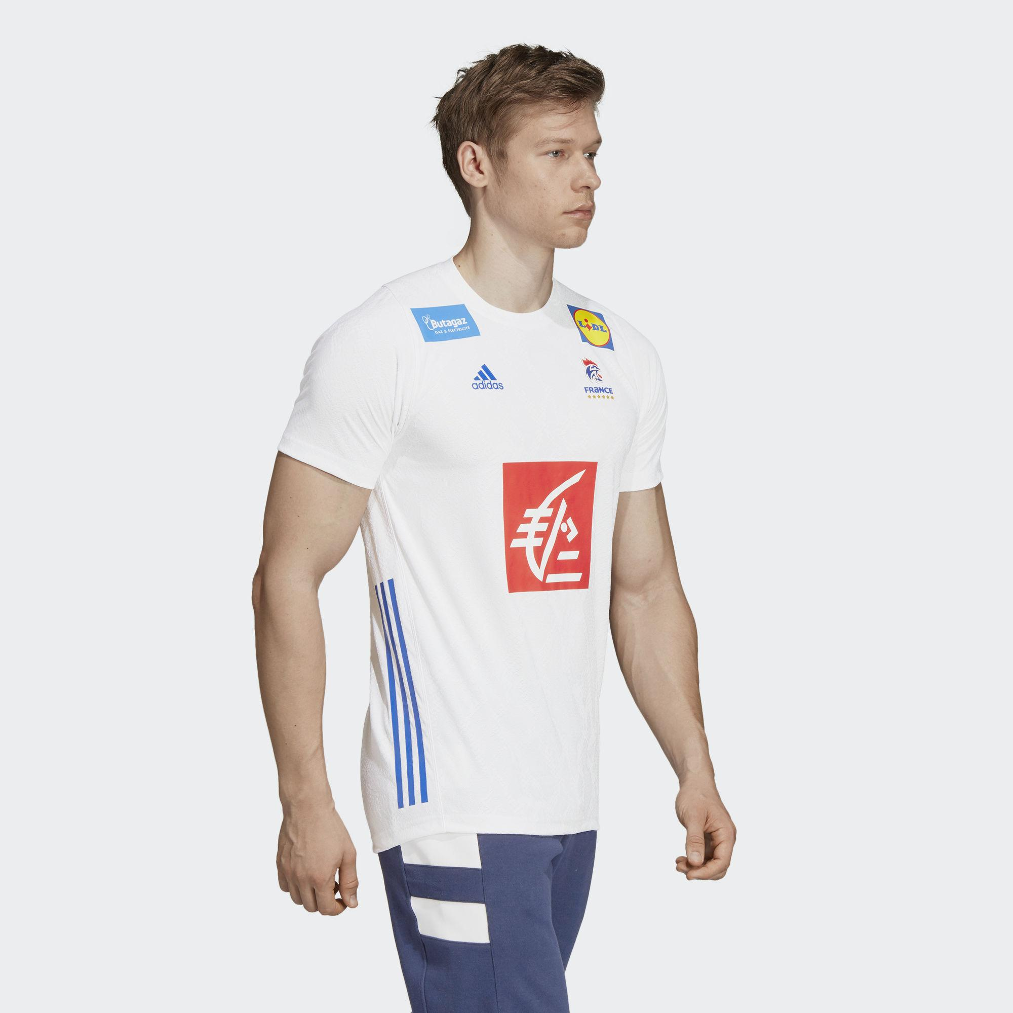 510a09c95 adidas French Handball Federation Replica Jersey in White for Men - Lyst
