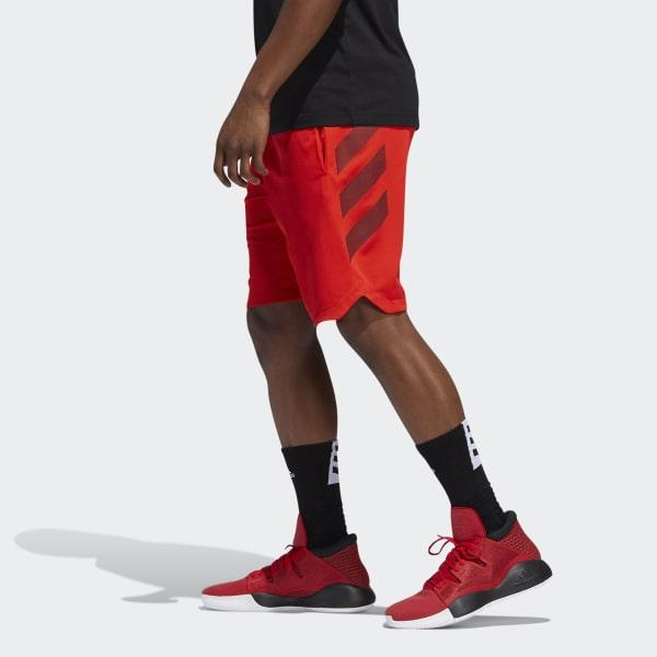 0974b7e556 adidas Accelerate 3-stripes Shorts in Red for Men - Lyst
