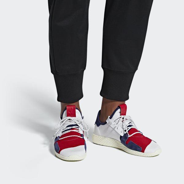 20d124b1609a4 Adidas - White Pharrell Williams Bbc Hu V2 Shoes for Men - Lyst. View  fullscreen