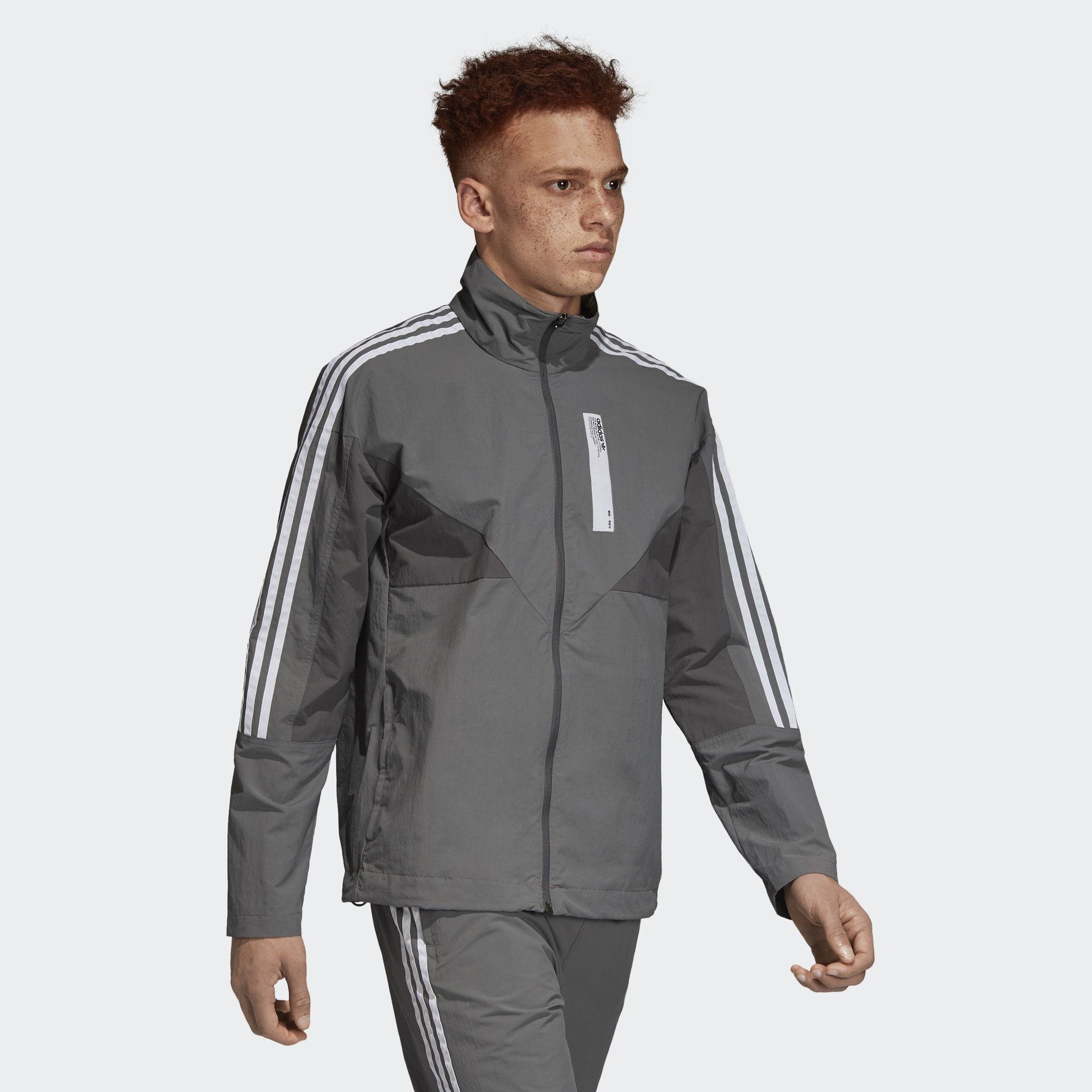 2a91a85146edc Adidas - Gray Nmd Track Jacket for Men - Lyst. View fullscreen