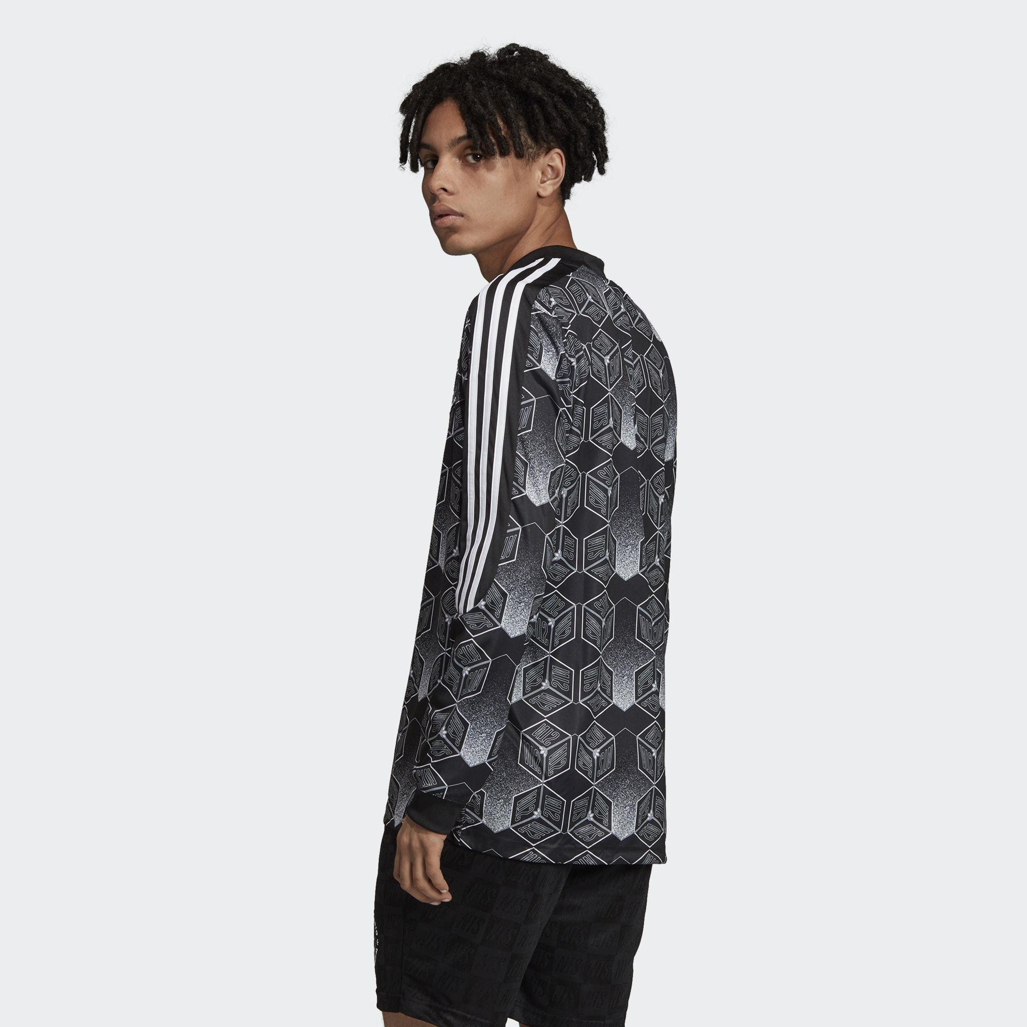 b5907b40810 Adidas - Black Nts Goalkeeper Jersey for Men - Lyst. View fullscreen