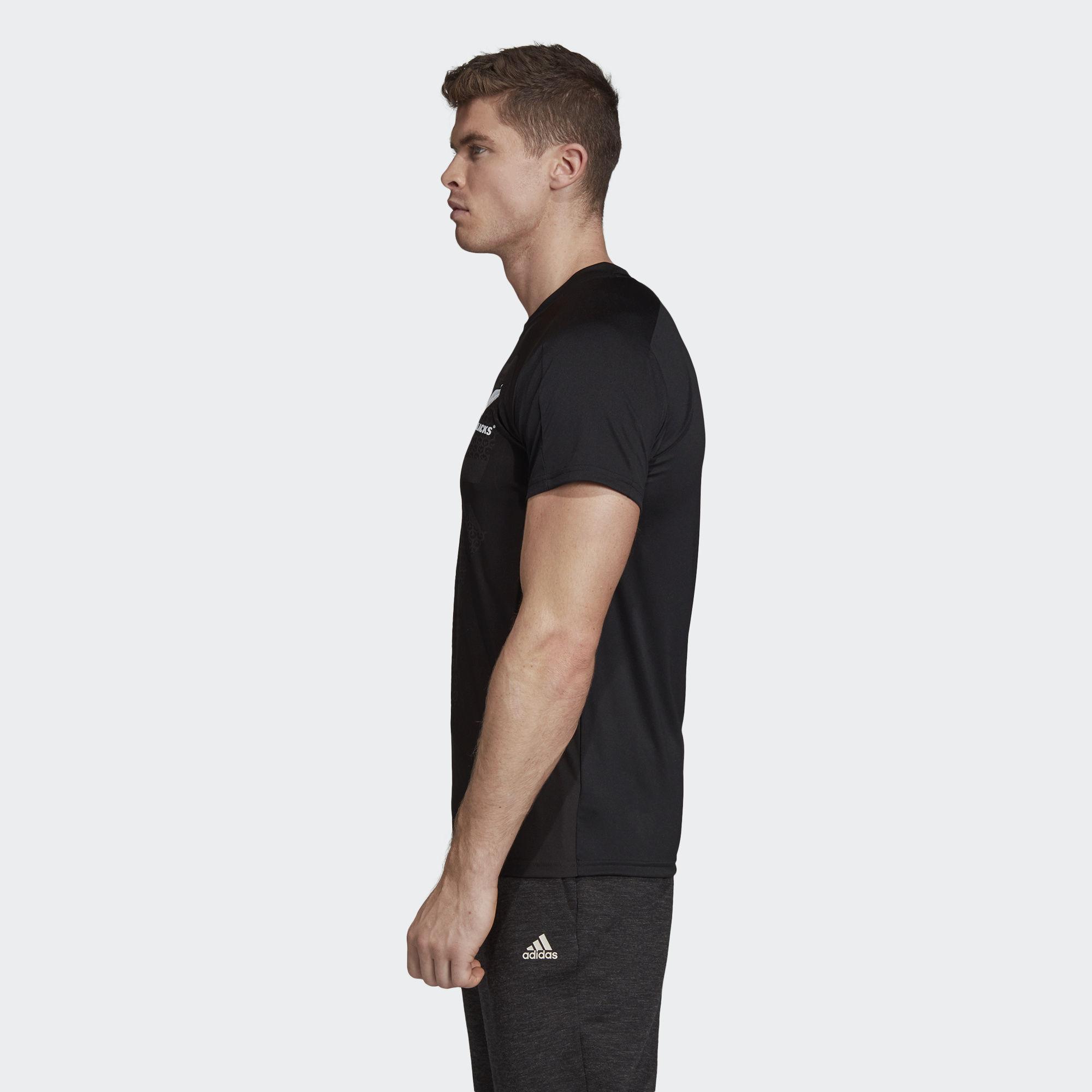 512b04ed3841df Adidas - All Blacks Home Performance Tee for Men - Lyst. View fullscreen