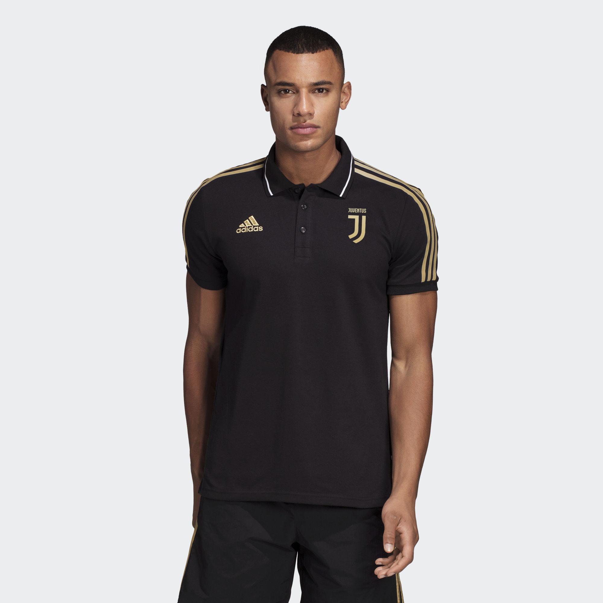 9db00e21a Adidas - Black Juventus Polo Shirt for Men - Lyst. View fullscreen