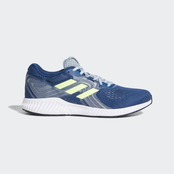 half off 2f543 36a11 adidas. Mens Blue Aerobounce 2 Shoes
