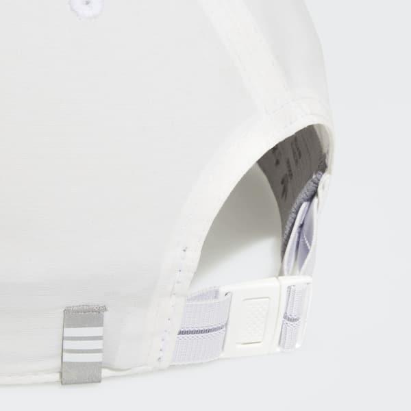 Lyst - Adidas Relaxed Modern 2 Strap-back Hat in White for Men 0946b083e75