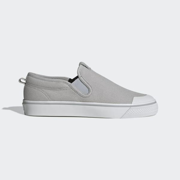 a24cb1e53a7 Lyst - adidas Nizza Slip-on Shoes in Gray